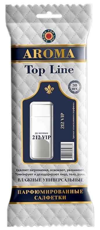 AROMA TOP LINE Влажные салфетки по мотивам 212 VIP Carolina Herrera