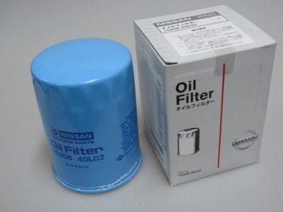 NISSAN Фильтр масляный 15208-40L02