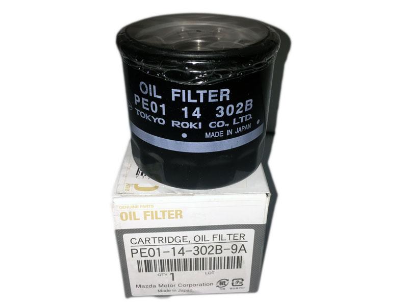 MAZDA Фильтр масляный PE01-14-302A