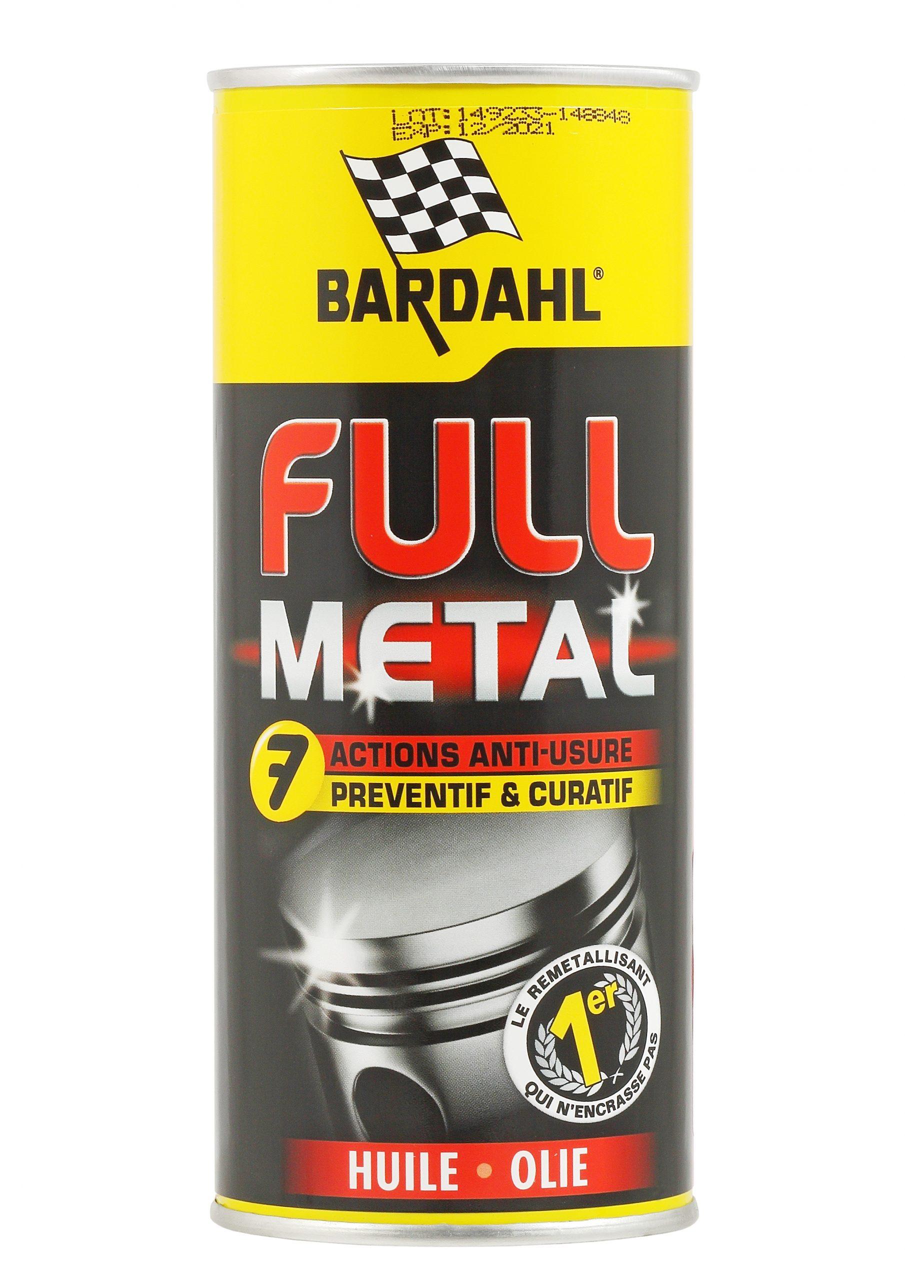 BARDAHL Комплексная восстановительно-профилактическая присадка в моторное масло Full Metal, 0,4л
