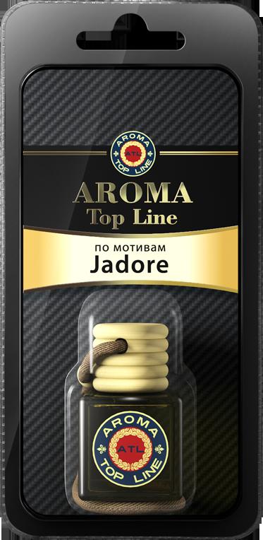 AROMA TOP LINE Ароматизатор подвесной флакон по мотивам 212 VIP