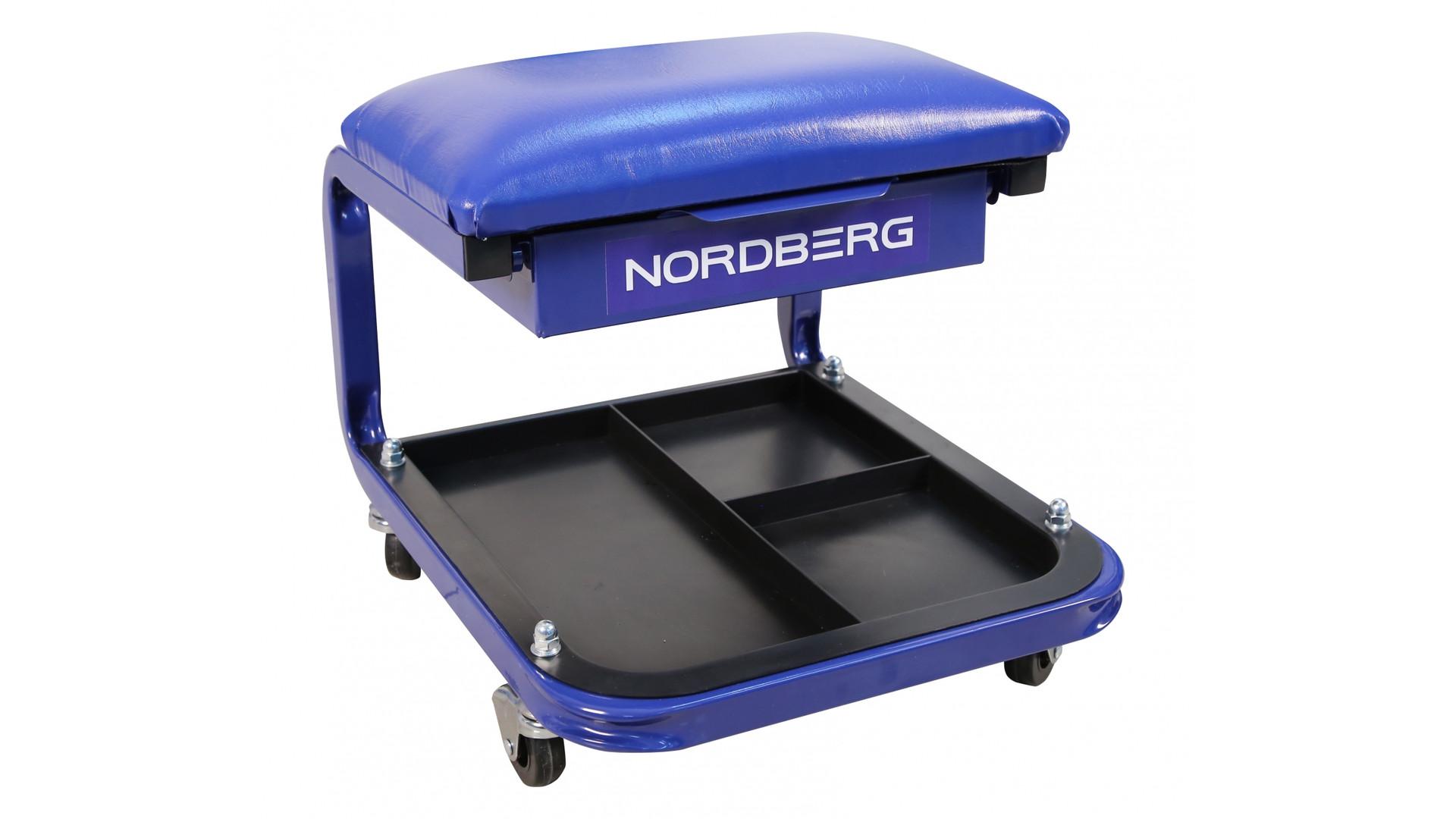 NORDBERG Сидение ремонтное на колесах с выдвижным ящиком