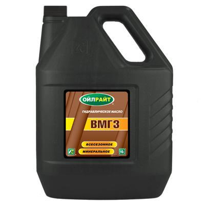 OIL RIGHT Гидравлическое масло марки ВМГЗ 10л Mineral oil