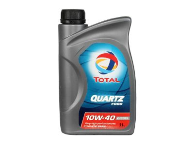 TOTAL Моторное масло Quartz Diesel 7000 SAE 10w40 1л Semi-synthetic