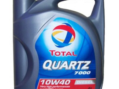 TOTAL Моторное масло Quartz Diesel 7000 SAE 10w40 4л Semi-synthetic