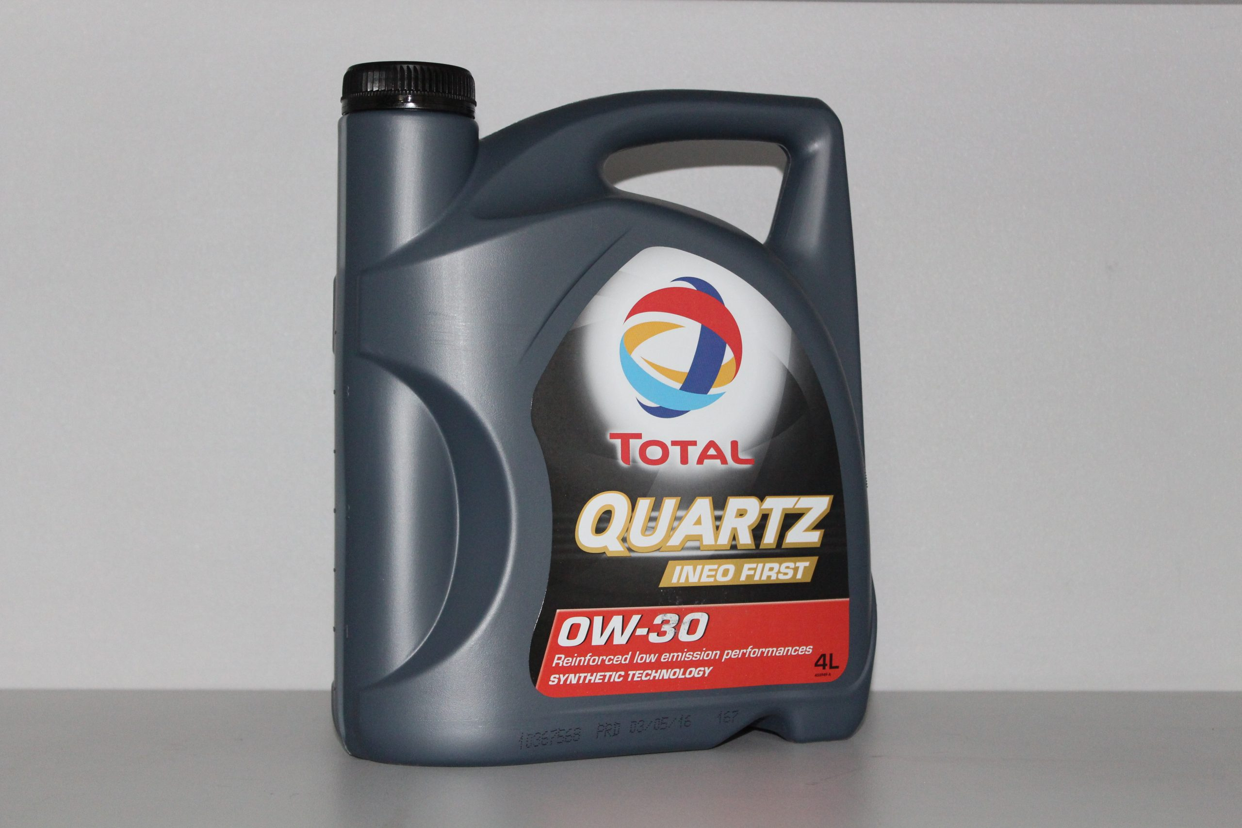 TOTAL Моторное масло Quartz Ineo FIRST SAE 0w30 4л Full-synthetic