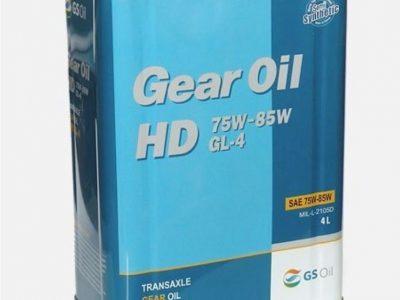 KIXX Трансмиссионное масло МКПП Gear Oil SAE 75w85 4л Semi-synthetic