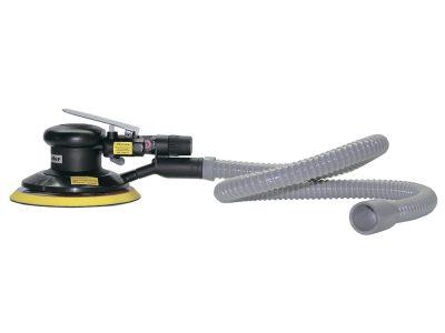 JETA PRO Пневматическая ротор-орбитальная шлифовальная машинка с пылеотводом, ход 5мм, Ø 150мм