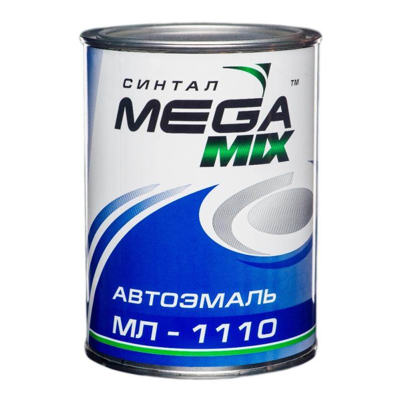 MEGAMIX Автоэмаль алкидная 127 Вишня, 0,80кг