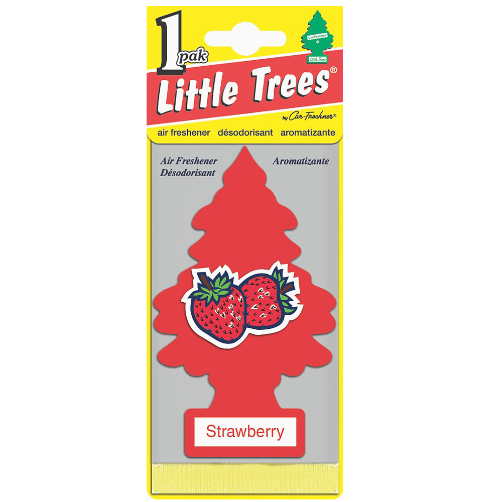 LITTLE TREES Ароматизатор ёлочка Клубника / Strawberry