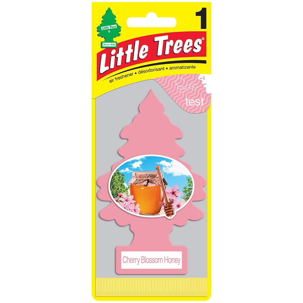 LITTLE TREES Ароматизатор ёлочка Медовая вишня / Cherry Blossom Honey