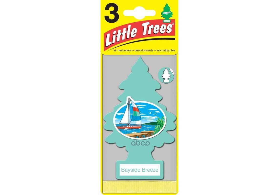 LITTLE TREES Ароматизатор ёлочка Прибрежный бриз / Bayside Breeze