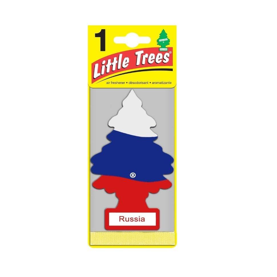 LITTLE TREES Ароматизатор ёлочка Российский флаг / Russian Flag