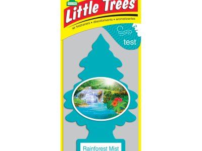 LITTLE TREES Ароматизатор ёлочка Тропический туман / Rainforest Mist
