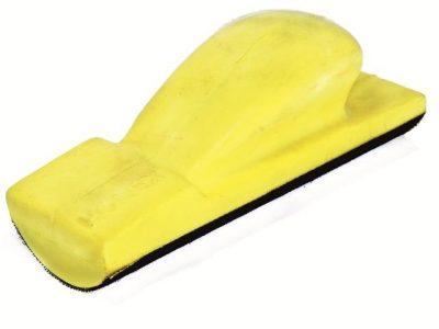 РУССКИЙ МАСТЕР Блок шлифовальный мягкий выпуклый R=35мм на липучке, 70х198 мм