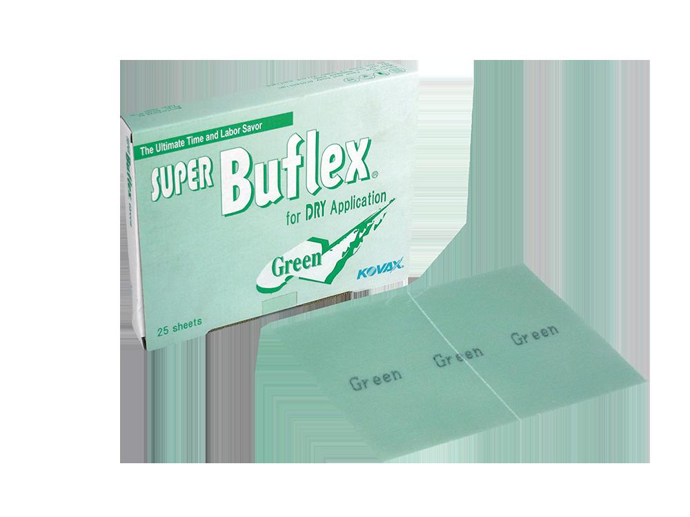 KOVAX Лист шлифовальный на липучке Super Buflex Dry Green 170 x 130 мм, P2000