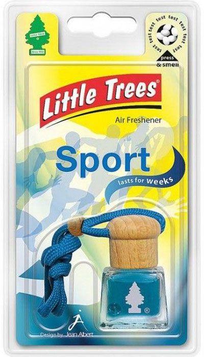 LITTLE TREES Ароматизатор подвесной жидкостной «Bottle Спорт»