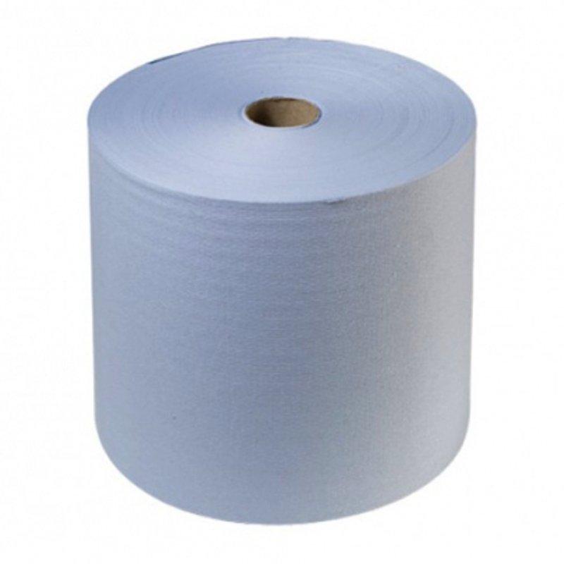 HOLEX Салфетка бумажная синяя 2-х слойная салфетка 38 х 22см (рулон 1000шт)