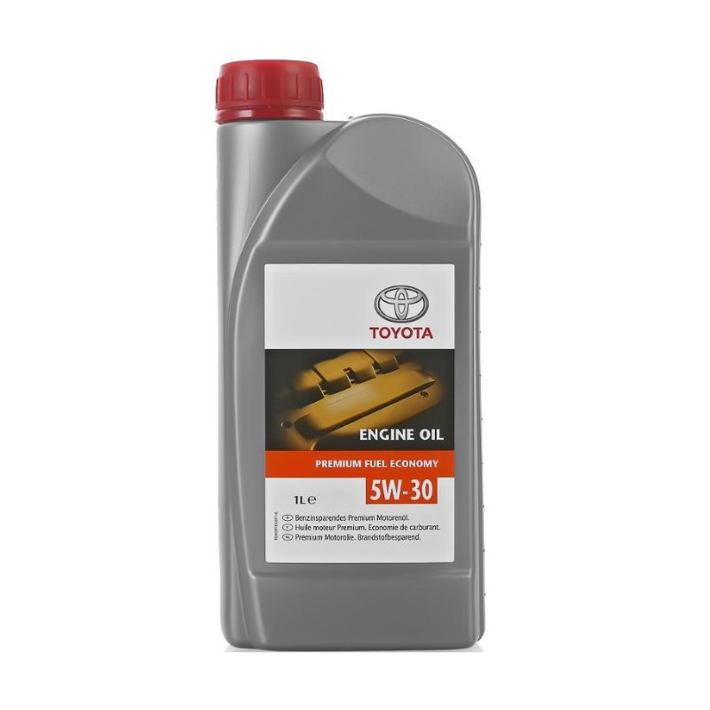 TOYOTA Моторное масло Engine Oil Premium SAE 5w30 1л Full-synthetic