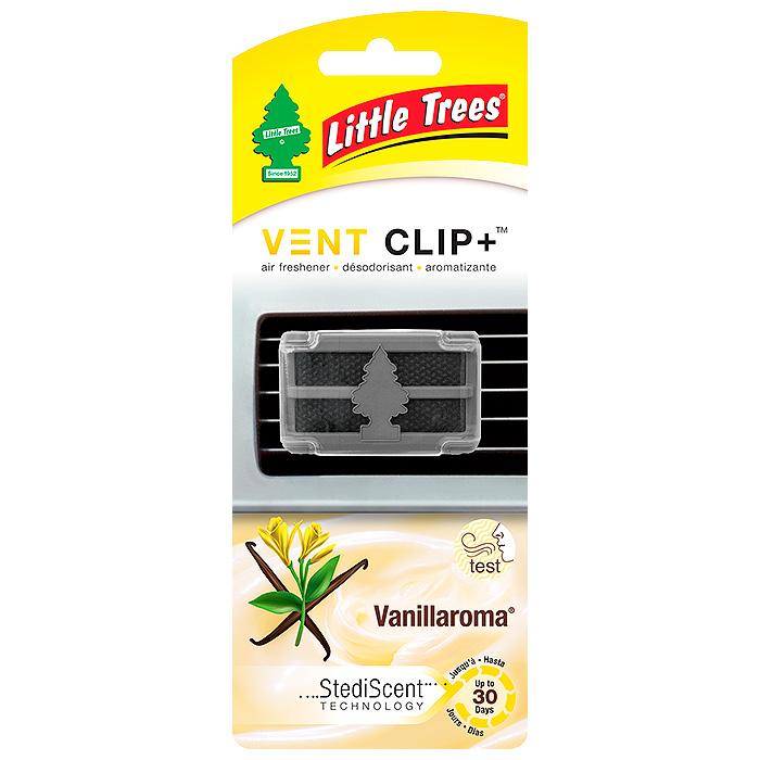 LITTLE TREES Ароматизатор CAR FRESHNER для дефлектора Аромат ванили Клип+