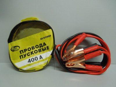 AUTOVIRAZH Провода пусковые в сумке ПВХ, 400А
