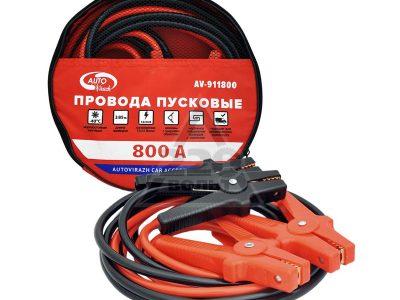 AUTOVIRAZH Провода пусковые в сумке ПВХ, 800А