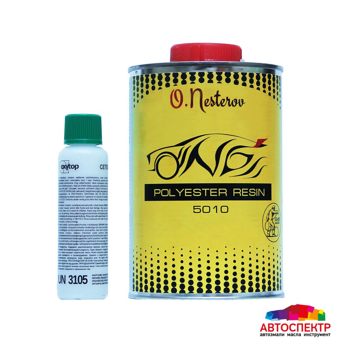 ОНБ Полиэфирная смола Polyester Resine 1кг + отвердитель 0,25гр