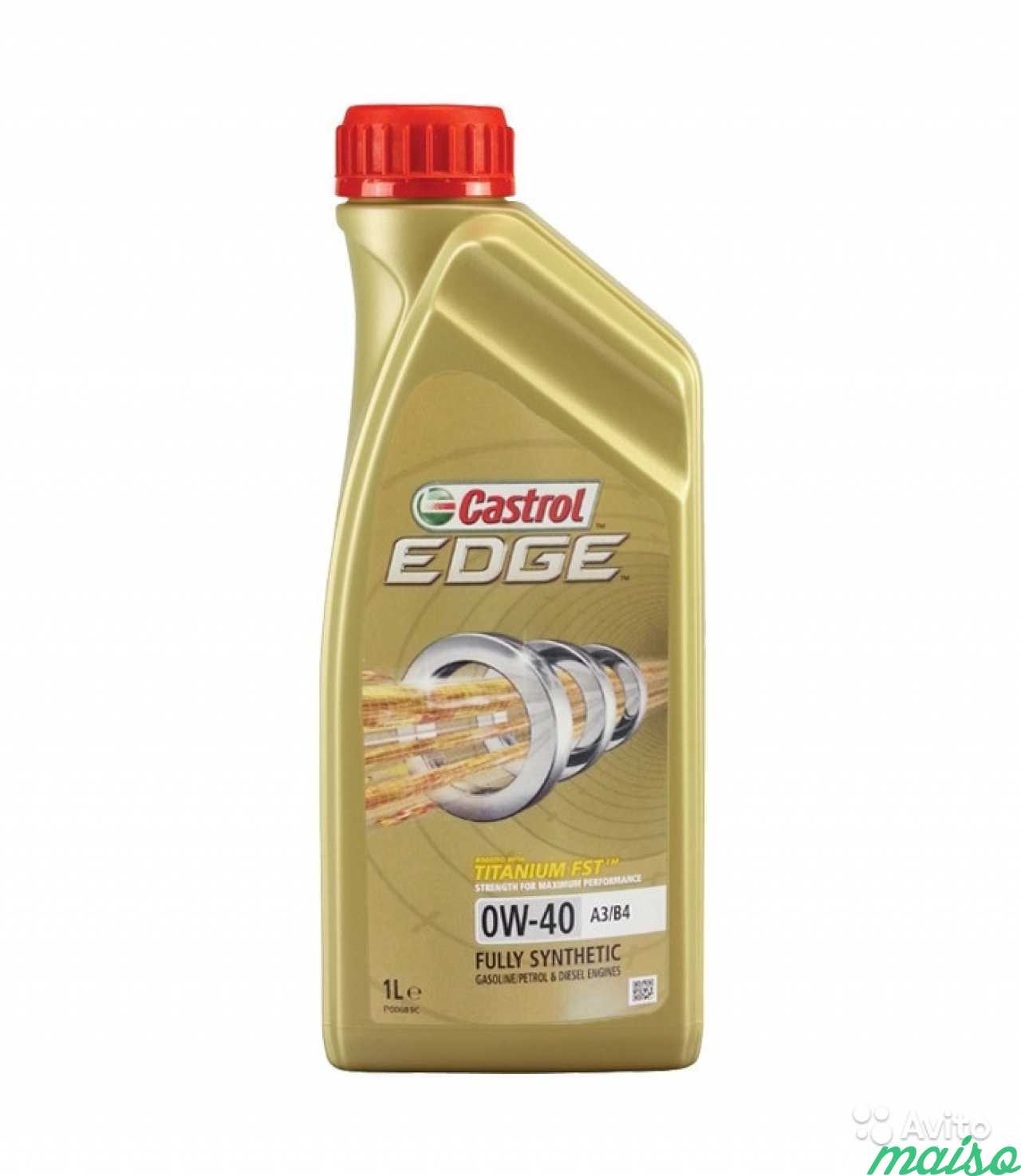 CASTROL Моторное масло Edge SAE 0w40 1л Full-synthetic
