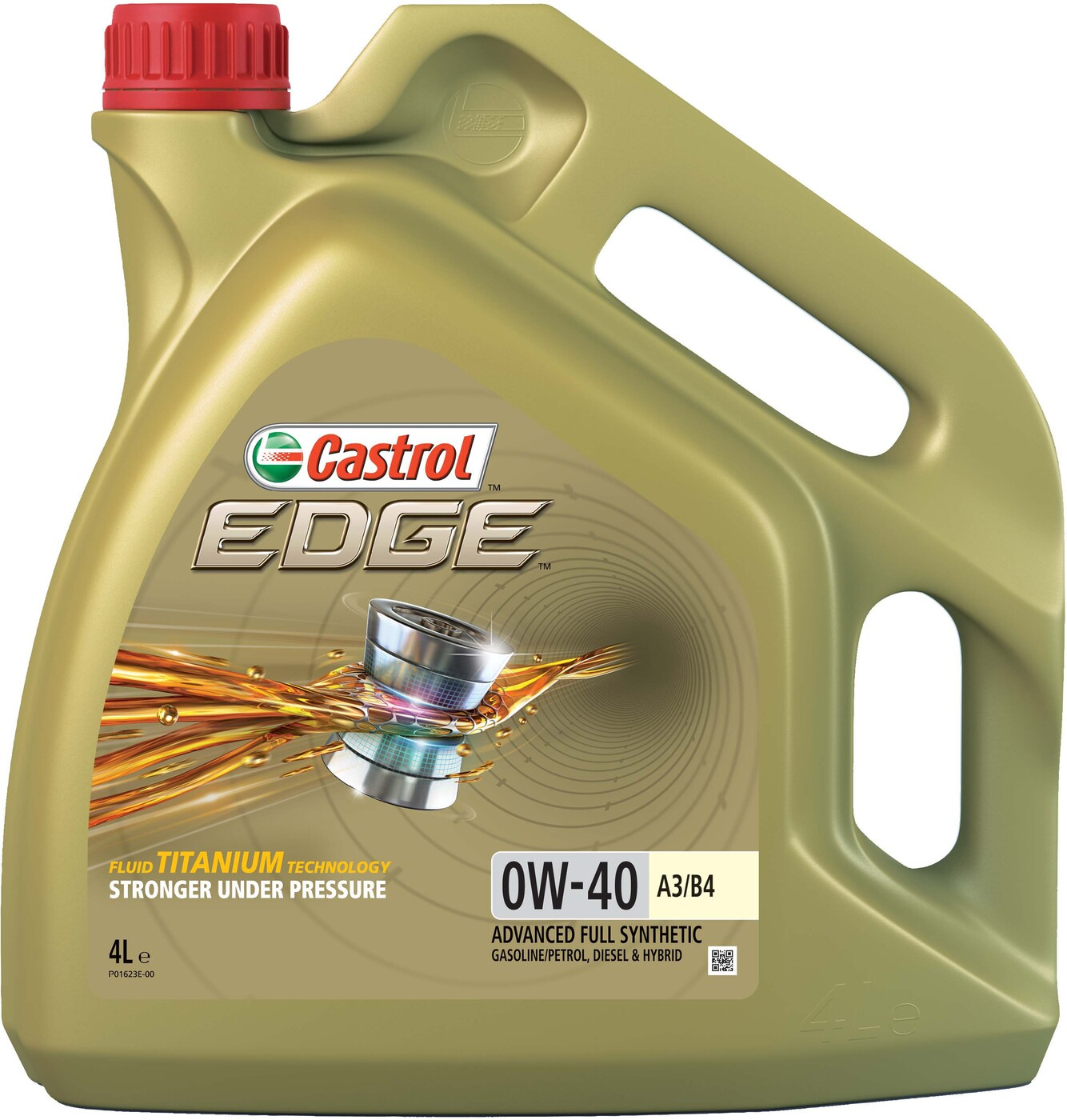 CASTROL Моторное масло Edge SAE 0w40 4л Full-synthetic