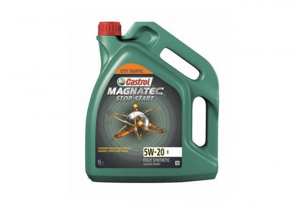 CASTROL Моторное масло Magnatec Stop-Start E SAE 5w20 5л Full-synthetic