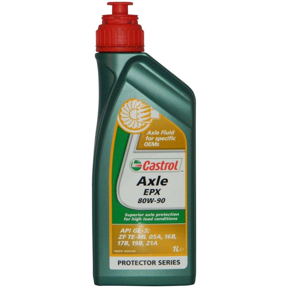 CASTROL Трансмиссионное масло МКПП Axle EPX SAE 80w90 1л Mineral oil