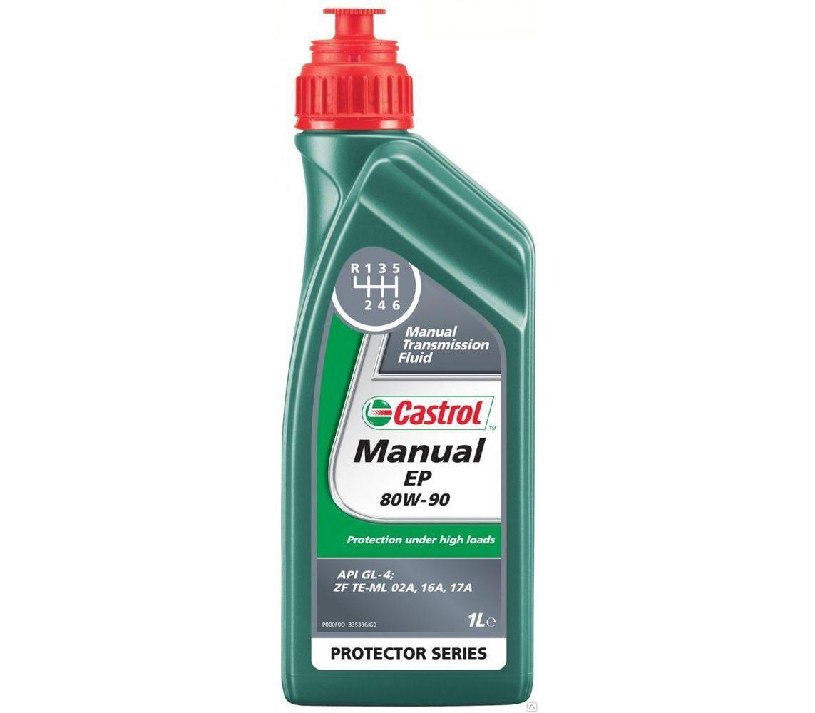 CASTROL Трансмиссионное масло МКПП Manual EP SAE 80w90 1л Mineral oil