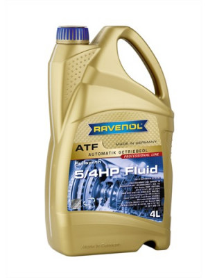 RAVENOL Трансмиссионное масло АКПП ATF 5/4 HP Fluid 4л Full-synthetic