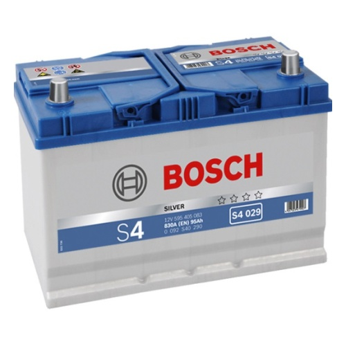 BOSCH Аккумуляторная батарея автомобильная Silver 95 A/h прямая полярность