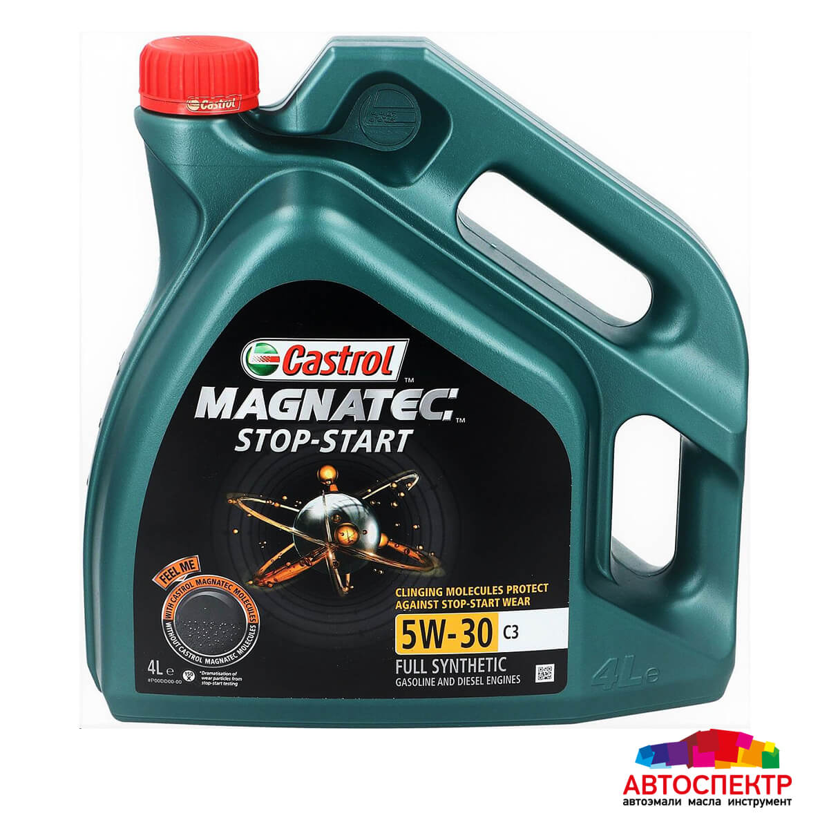CASTROL Моторное масло Magnatec Stop-Start C3 SAE 5w30 4л Full-synthetic