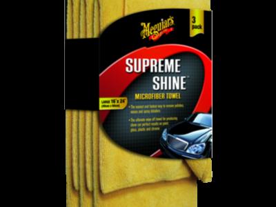 MEGUIARS Микрофибровое полотенце Supreme Shine Microfiber Towel (40х63 см), комплект 3шт