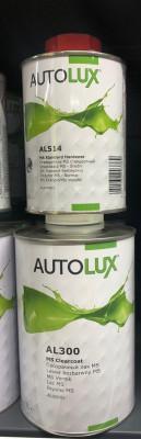 AUTOLUX Лак прозрачный MS 1л + отвердитель быстрый 0,5л
