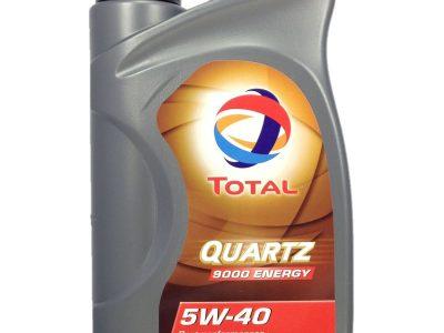 TOTAL Моторное масло Quartz Energy 9000 SAE 5w40 1л Full-synthetic