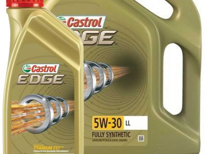 CASTROL Моторное масло Edge LL SAE 5w30 ПРОМО 4л + 1л