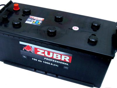ZUBR Аккумуляторная батарея автомобильная Professional New 190 A/h прямая полярность