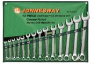 JONNESWAY Набор ключей гаечных комбинированных в сумке, 10-32 мм, 14 предметов