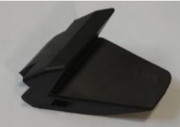 NORDBERG Опция накладка (косая) пластиковая на зажимные кулачки для 4638E (1 шт.)