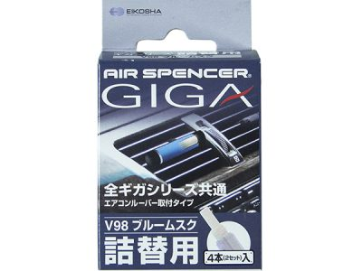 EIKOSHA Ароматизатор GIGA запасной элемент на дефлектор BLUE MUSK / ледяной шторм