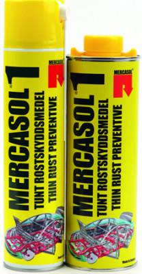 MERCASOL №1 Антикоррозионное средство для обработки порогов, стыков и швов, 1л