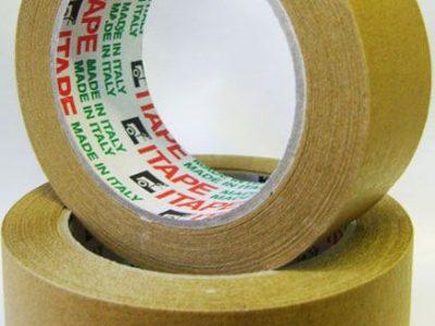 ITAPE Скотч бумажный коричневый 50 х 40мм
