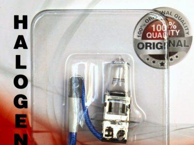 AVS Лампа автомобильная галогенная H3 12V 55W Vegas в блистере, 1 шт. Vegas H3
