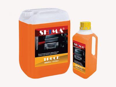 SHIMA TRUCK Профессиональное, высоко-щелочное моющее средство бесконтактной мойки, 1л