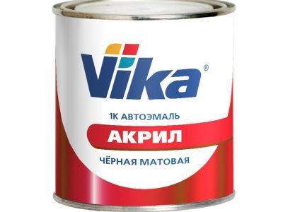 VIKA Автоэмаль акриловая 295 Оранжевая, 0,95кг