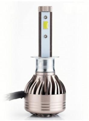 AVS Лампа автомобильная светодиодная H1 Lumos 12/24V.30W, в блистере 2 шт Lumos H1