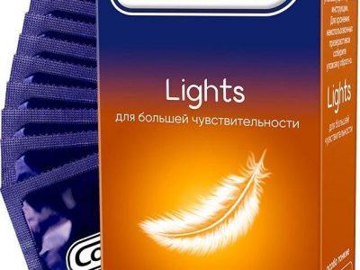 CONTEX Презервативы Lights особо тонкие для большей чувств, 12шт